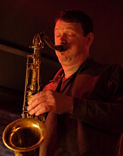 Saxophonist & Uberdude Matt Langley